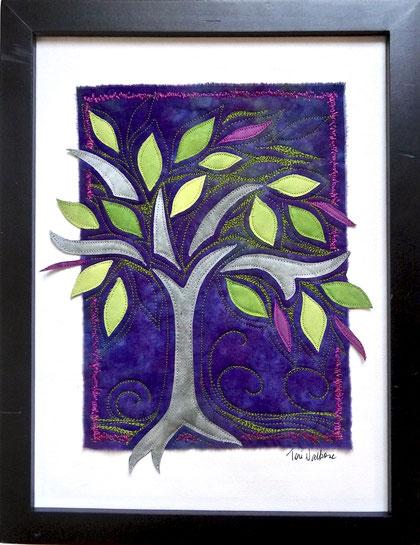 weeping tree - purple