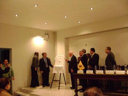 Sr. Rafael Santos,  Alcalde y el Sr. José De La Puente Candamo 12-10-2009