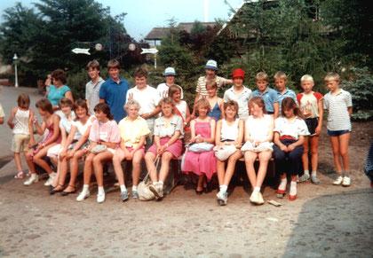 Jugend im Heide-Park 1986