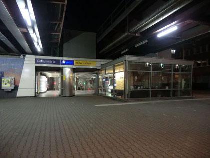 Galluswarte - Ausgang Mainzer Landstr.