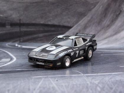AURORA AFX Monza GT schwarz PanAm #7