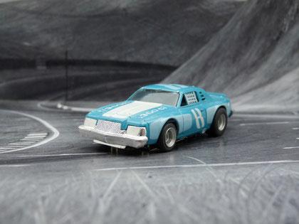 AURORA AFX Dodge Magnum Stock Car blau/hellblau/weiß #8