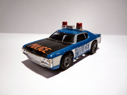 AURORA AFX Matador Police blau