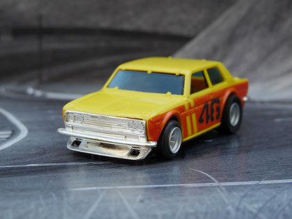 "AURORA AFX Bre Datsun 510 gelb/orange #46 ""Trans AM"""
