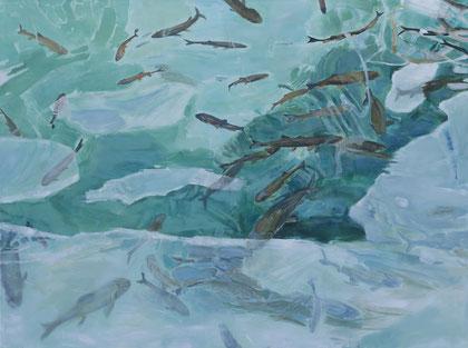 Fische im Licht 200 x 150