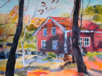 Schwedenhaus 160 x 120