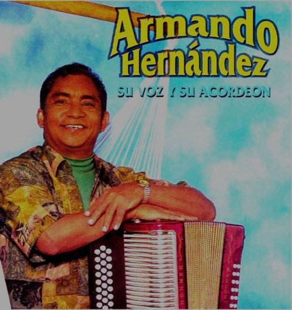 Armando Hernández su voz y su acordeón