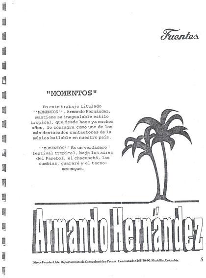 Armando Hernández Momentos