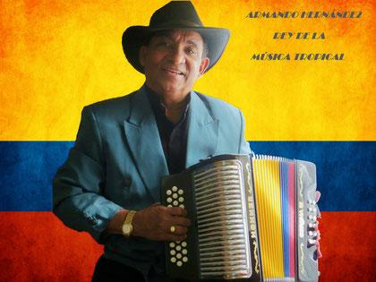 Armando Hernández Rey de La Música Tropical