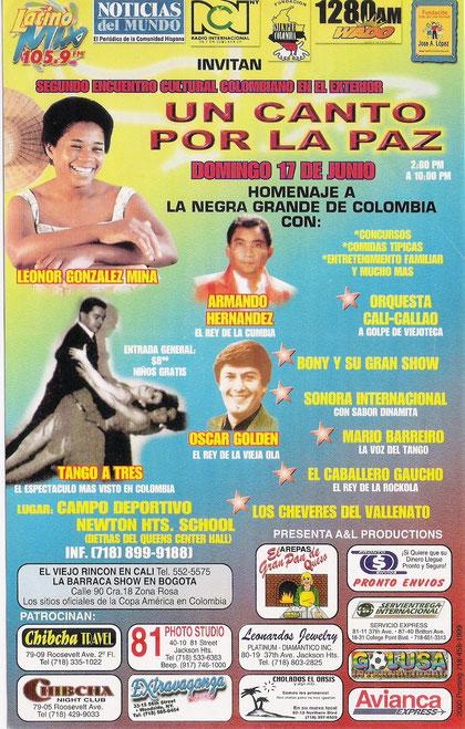poster Armando Hernández EE.UU