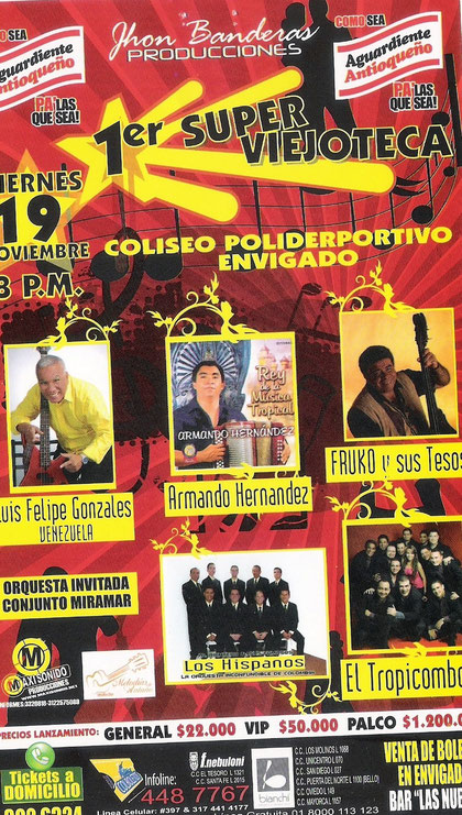 Poster Viejoteca Envigado