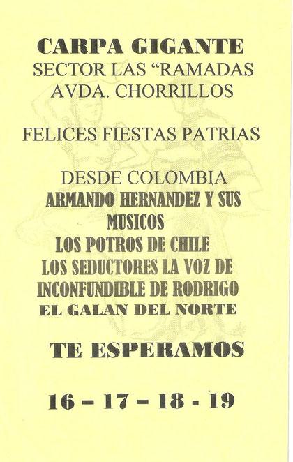 Presentación Armando Hernandez en chile