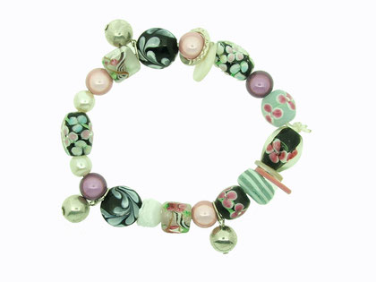 Emma Hedley Recycled beaded bracelet