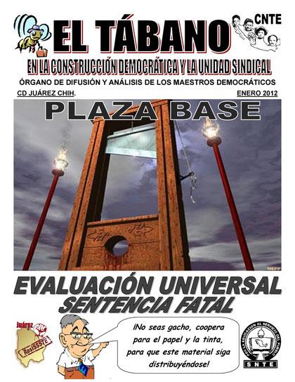 EL TÁBANO ENERO 2012