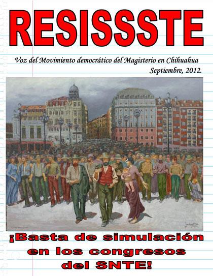 DOSSIER RESISSSTE SEPTIEMBRE 2012