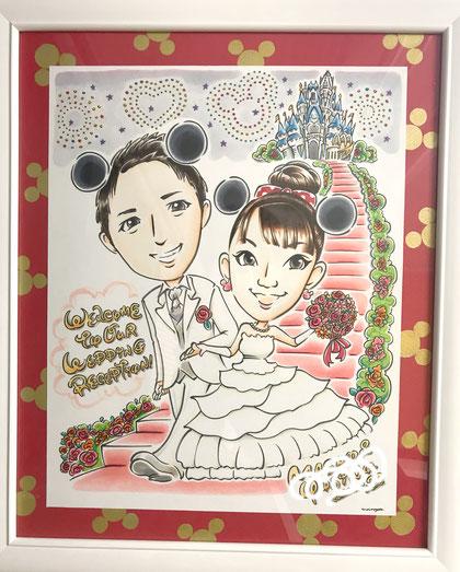 #似顔絵  #ウェルカムボード #似顔絵ウェルカムボード  #welcomeboard   #portrait  #illustration  #イラスト  #ブライダル  #結婚式  #wedding #熊本 #似顔絵作家ナガタマイ #ナガタマイ