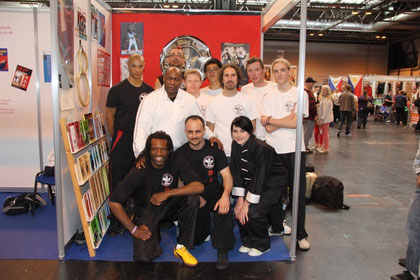 MMA show with Master Brian Desir, Master Ronnie Green and Sifu Diego D'Imporzano