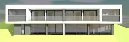 Ansicht Süd, 3D Modell