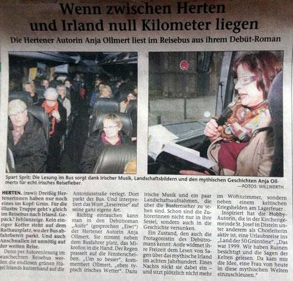 Berichterstattung der Hertener Allgemeine am 11.03.13