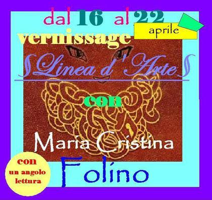 Locandina del Vernissage (dal 16 al 22 Aprile). Clicca per aprire il link