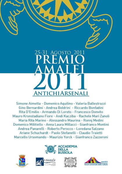 Premio Antichi Arsenali di Amalfi - 2011