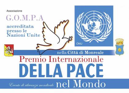 Premio Internazionale della Pace nel Mondo - Monreale 2013