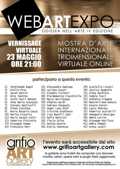 IV Ed. WebART Expo Odissea nell'arte - 2015