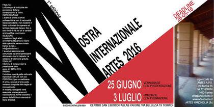 Mostra Internazionale Artes - Torino - 2016