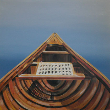 """Adrift"" 40 x 30 Now available at RED CANOE GALLERY, Port Carling, Muskoka www.redcanoegallery.com info@redcanoegallery.com"