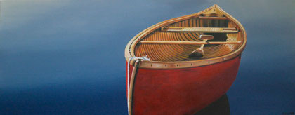 """DIP DIP AND SWING""     16"" X 40""  SOLD"