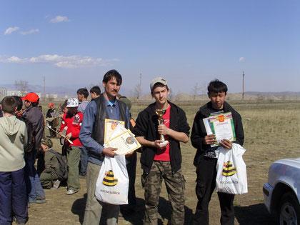 кубок Победы в Кызыле