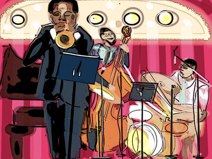 iPadJAZZart:Ambrose Akinmusire, Redwood Jazz Alliance, Arcata 2011