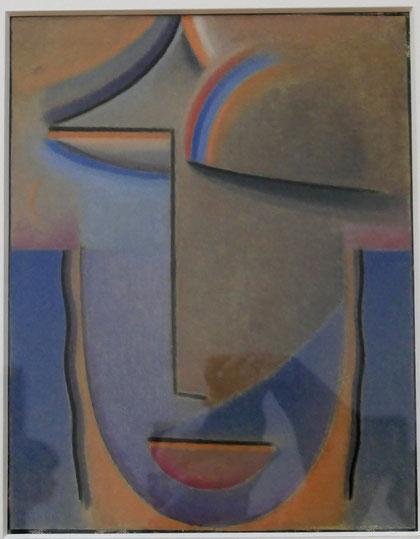 Alexej von Jawlensky : tête abstraite, mystère, 1925
