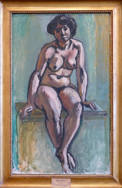 Henri Matisse (1869-1954) : femme assise