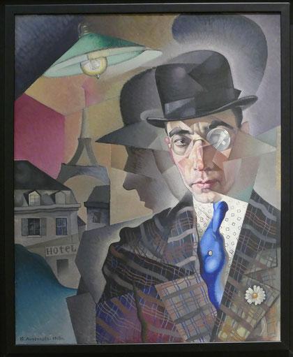 Georges Annenkoff (1889-1974) : portrait de Miron Sherling