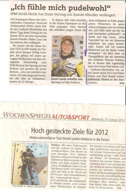 Wochenspiegel, BLICK, Kletterhalle Chemnitz, Sarah Heide, Limbach-Oberfrohna, Klettern, Toni Riedel