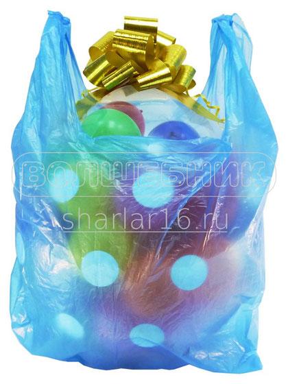 упаковка подарков в воздушный шар
