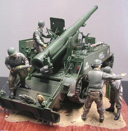 Auch die M12 erhält eine Besatzung des Jahres 1944