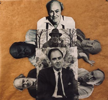 Roald Dahl-Collage