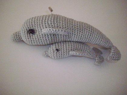 delfines amigurumis
