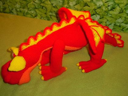 Dragon amigurimi