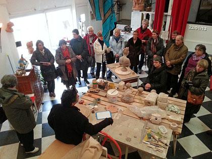 Visite atelier Campo - La Rochelle