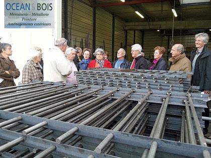Visite Océans & Bois 20/11/2012