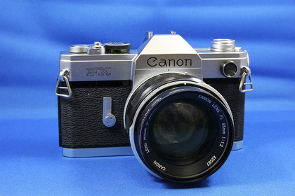 Canon FX (Canon FL55mm F1.2 付き)