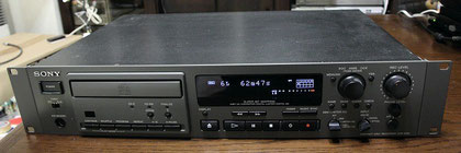 SONY Professional CD Recorder CDR-W33