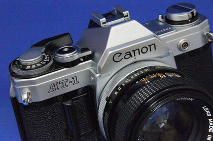 Canon AT-1 FD50mm F1.4S.S.C.付き