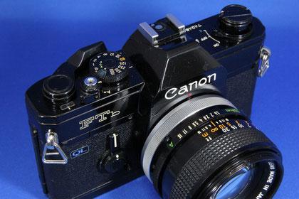 Canon New FTb Black (Canon FD50mm F1.4 S.S.C.付き)
