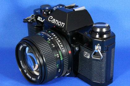 Canon AL-1 NewFD50mm F1.4付き