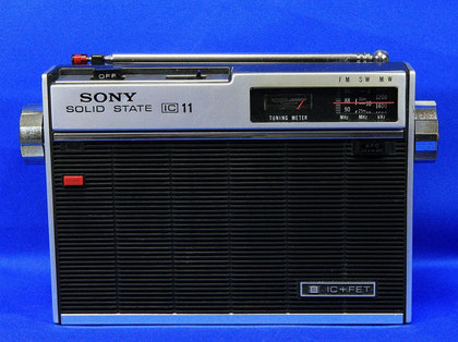 SONY ICF-110 FM/SW/MW 3Band Radio