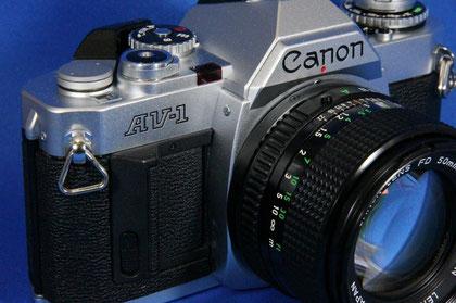 Canon AV-1 NewFD50mm F1.4